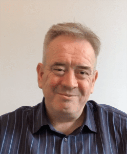 Mark Cousens owner of Tranceformation Hypnotherapy