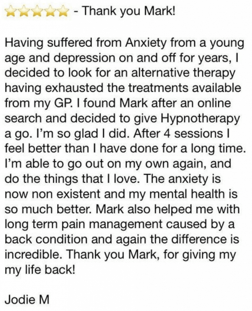 anxiety review